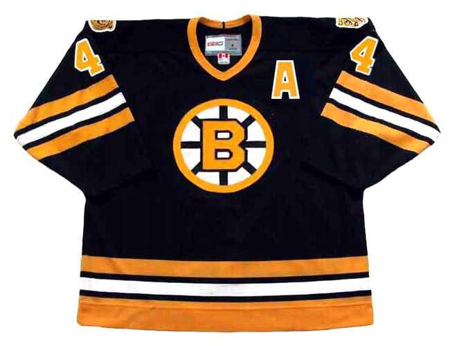 boston bruins away jersey
