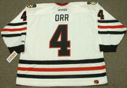 BOBBY ORR Chicago Blackhawks 1976 CCM Throwback Home NHL Hockey Jersey - FRONT