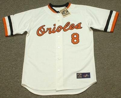 size 40 6fec3 d50e0 CAL RIPKEN Jr. Baltimore Orioles 1983 Majestic Cooperstown Throwback  Baseball Jersey