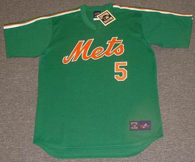 big sale 5eee4 7401b DAVID WRIGHT New York Mets 1980's Majestic Cooperstown