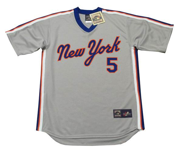 the best attitude d01e5 c5590 DAVID WRIGHT New York Mets 1987 Majestic Cooperstown Away Baseball Jersey