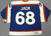 JAROMIR JAGR New York Rangers 1970's CCM Vintage Throwback NHL Hockey Jersey
