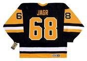JAROMIR JAGR Pittsburgh Penguins 1992 CCM Vintage Away NHL Hockey Jersey