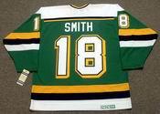 BOBBY SMITH Minnesota North Stars Jersey 1990 CCM Vintage Throwback NHL - BACK