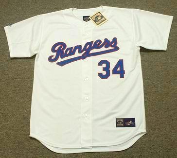 9ef30b811 NOLAN RYAN Texas Rangers 1991 Home Majestic Baseball Throwback Jersey - Custom  Throwback Jerseys