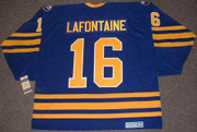 PAT LAFONTAINE Buffalo Sabres 1992 CCM Vintage Throwback Away Hockey Jersey