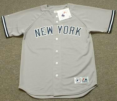 quality design e0326 92638 REGGIE JACKSON New York Yankees 1977 Majestic Throwback Away Baseball Jersey