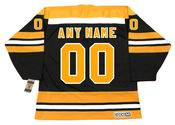 BOSTON BRUINS 1970's Away CCM Vintage Custom NHL Jerseys - BACK