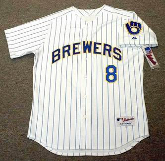 buy popular 18cfa 14de9 RYAN BRAUN Milwaukee Brewers 2012 Majestic AUTHENTIC Home Baseball Jersey