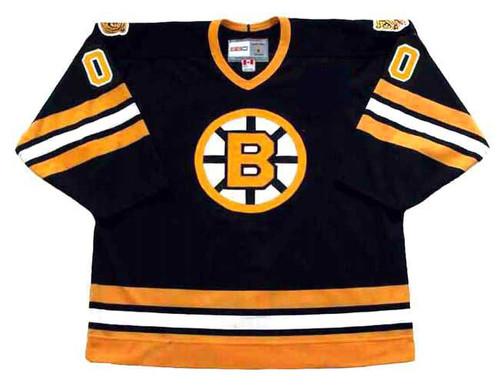 BOSTON BRUINS 1990's Away CCM Vintage Custom NHL Jerseys - FRONT