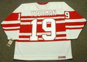 STEVE YZERMAN Detroit Red Wings 1992 CCM NHL Vintage Throwback Jersey