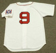 TED WILLIAMS Boston Red Sox 1939 Home Majestic Baseball Throwback Jersey - BACK
