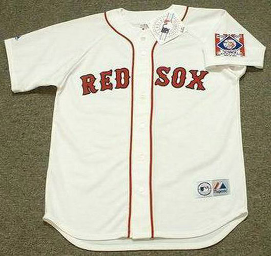 best authentic 1e778 c09a9 TED WILLIAMS Boston Red Sox 1939 Home Majestic Throwback Baseball Jersey