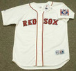 TED WILLIAMS Boston Red Sox 1939 Home Majestic Baseball Throwback Jersey - FRONT
