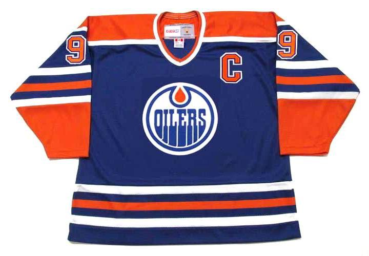 0f49ef37144 WAYNE GRETZKY Edmonton Oilers 1987 Away CCM NHL Vintage Throwback Jersey -  FRONT