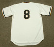 WILLIE STARGELL Pittsburgh Pirates 1971 Home Majestic Throwback Baseball Jersey - BACK