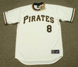 WILLIE STARGELL Pittsburgh Pirates 1971 Home Majestic Throwback Baseball Jersey - FRONT