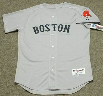 newest 1ca8a fb4cd BOSTON RED SOX 2010 Majestic AUTHENTIC Throwback Jersey Customized