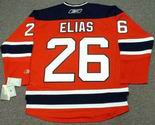 PATRIK ELIAS New Jersey Devils 2010 REEBOK Throwback NHL Hockey Jersey