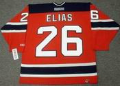 PATRIK ELIAS New Jersey Devils 2003 CCM Throwback Away NHL Hockey Jersey