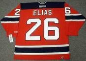 PATRIK ELIAS New Jersey Devils 2006 Home CCM NHL Vintage Throwback Jersey