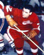 NORM ULLMAN Detroit Red Wings 1966 Home CCM Throwback NHL Hockey Jersey - ACTION