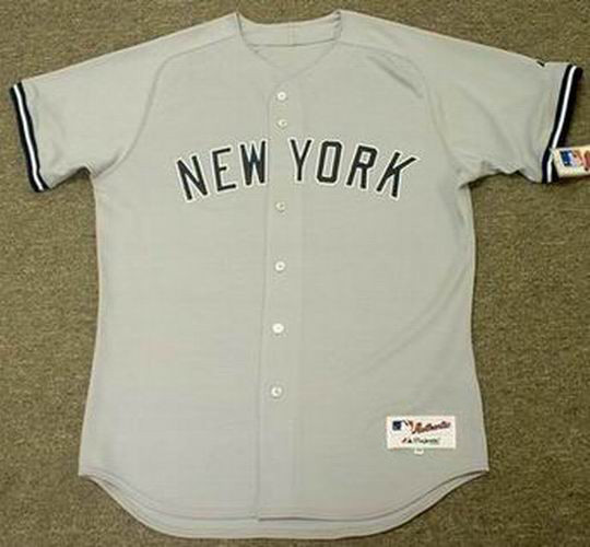 info for 2f38a 72bc8 DON MATTINGLY New York Yankees Majestic Authentic Away Throwback Baseball  Jersey