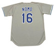 HIDEO NOMO Los Angeles Dodgers 1995 Majestic Throwback Away Baseball Jersey - Back