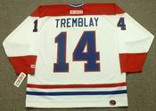 MARIO TREMBLAY Montreal Canadiens 1978 CCM Throwback Home NHL Jersey