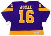 EDDIE JOYAL Los Angeles Kings 1971 CCM Vintage Away NHL Hockey Jersey