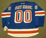 "NEW YORK RANGERS Reebok Home Jersey Customized ""Any Name & Number(s)"""