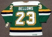 BRIAN BELLOWS Minnesota North Stars Jersey 1991 Away CCM Vintage Throwback NHL - BACK
