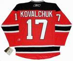 ILYA KOVALCHUK New Jersey Devils 2010 REEBOK Throwback NHL Hockey Jersey