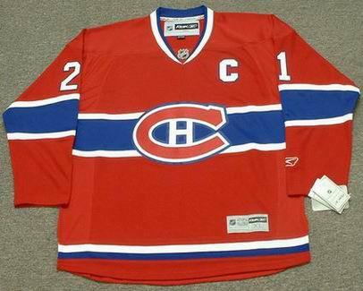 quality design 6b1aa 550cf BRIAN GIONTA Montreal Canadiens 2012 REEBOK Throwback Home NHL Hockey Jersey