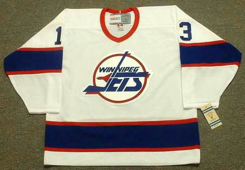 TEEMU SELANNE Winnipeg Jets 1992 Home CCM NHL Vintage Throwback Jersey - FRONT