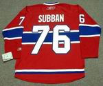 P.K. SUBBAN Montreal Canadiens 2015 REEBOK Throwback Home NHL Hockey Jersey