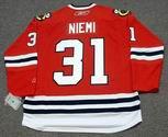 ANTTI NIEMI Chicago Blackhawks 2010 REEBOK Premier Throwback NHL Hockey Jersey