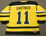 MIKE GARTNER Cincinnati Stingers 1978 WHA Throwback Hockey Jersey