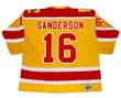 DEREK SANDERSON Philadelphia Blazers WHA 1973 Throwback Hockey Jersey - BACK