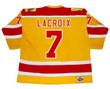 ANDRE LACROIX Philadelphia Blazers 1973 Throwback WHA Hockey Jersey - BACK
