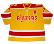 ANDRE LACROIX Philadelphia Blazers 1973 Throwback WHA Hockey Jersey - FRONT