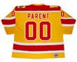 Bernie Parent 1973 Philadelphia Blazers WHA Throwback Hockey Jersey - Back