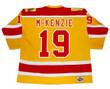 JOHNNY McKENZIE Philadelphia Blazers 1973 WHA Throwback Hockey Jersey - BACK
