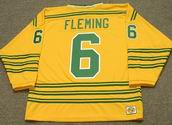 REGGIE FLEMING Chicago Cougars 1973 WHA Throwback Hockey Jersey