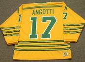 LOU ANGOTTI Chicago Cougars 1974 WHA Throwback Hockey Jersey
