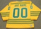 "CHICAGO COUGARS 1970's WHA Throwback Hockey Jersey Customized ""Any Name & Number(s)"""