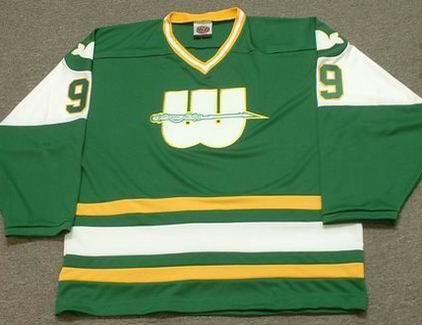 big sale ed6f0 a57b4 GORDIE HOWE New England Whalers 1978 WHA Hockey Throwback Jersey