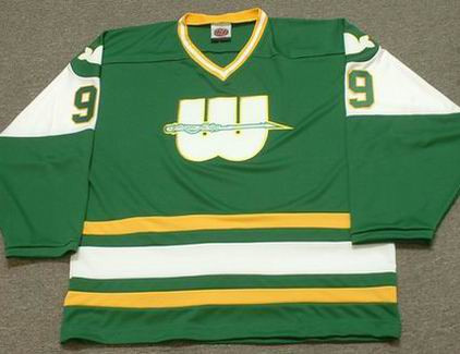 GORDIE HOWE 1978 New England Whalers Jersey - FRONT