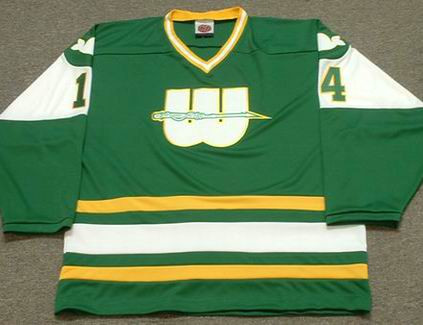 DAVE KEON 1978 New England Whalers Hockey Jersey - FRONT