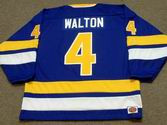 MIKE WALTON Minnesota Fighting Saints 1975 WHA Throwback Hockey Jersey